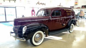 (70-2) 1940 Ford Panel Delivery
